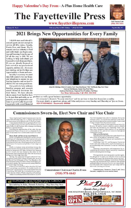 The Fayetteville Press Newspaper